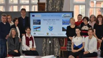 Northumbria University hosts European research partners