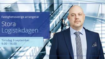Anders Johansson, Associate Director Industrial & Logistics, deltar på Stora Logistikdagen 2021.