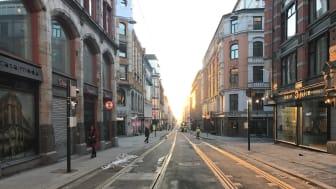 Toveistrikk etablert i Prinsens gate fra og med 27.februar