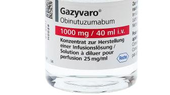 Förlängd överlevnad med Gazyvaro▼vid kronisk lymfatisk leukemi