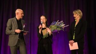 Sally Voltaire röstades fram till Årets Unga Entreprenör Öst för matupplevelsekonceptet Rårört