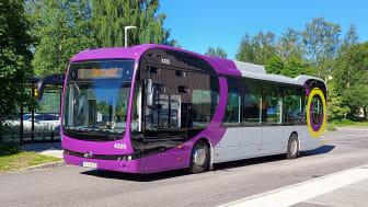 Nu startar Piteå Stadsbuss nya trafik