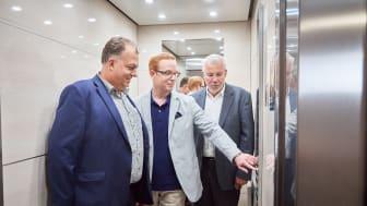 De vann en supermodern hiss i Svenska hissdrömmar
