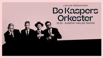 Nypremiär och extra konsert på Rival i Stockholm 5 november för Bo Kaspers Orkester