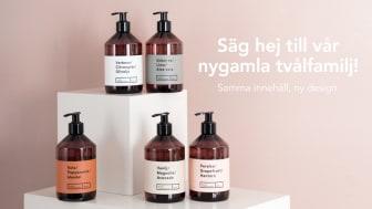 Lagerhaus uppdaterar sin svensktillverkade populära tvålfamilj