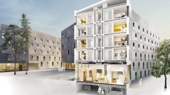 Kv Forskningen - KTH Rocks är nominerat till Årets Bygge