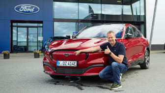 Åpner for bestilling: Vellykket testing av Mustang Mach-E i Norge