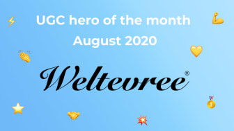 UGC hero of the month – August 2020: Weltevree