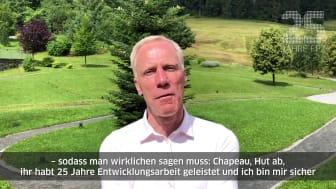 Ingo Froböse gratuliert zu 25 Jahren FPZ