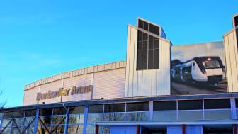 Bombardier Arena i Västerås.