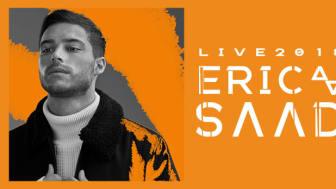 INSTÄLLT - Eric Saade till Helsingborg Arena våren 2018