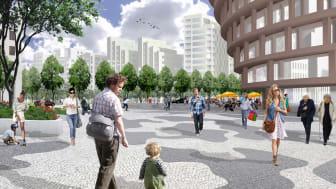 Pressinbjudan - i dag 21/6 Invigning av byggandet av Hagastaden