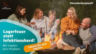 Die TH Wildau unterstützt die am 30. Juli 2021 gestartete Kampagne #brandenburgimpft des Ministeriums für Soziales, Gesundheit, Integration und Verbraucherschutz des Landes Brandenburg (MSGIV). (Bild: MSGIV)