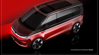 Nedtællingen er i gang til verdenspremieren på en ny generation Multivan