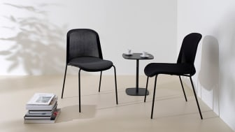 """""""The pursuit of lightness has given the chair some interesting additional qualities,"""" says Monica Förster."""