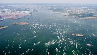 Älvstranden Utveckling lyfter Volvo Ocean Race-målgången