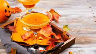 Absolut Spooky Pumpkin Martini
