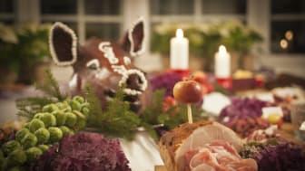 Julbord på Högberga Gård