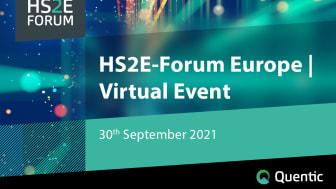 Träffa pionjärer inom EHS och få kontakt med specialister från hela Europa på HS2E-Forum Europe | Virtuellt Event