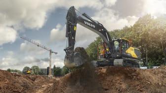 Förflytta mer till lägre kostnad med uppdaterade EC250E och EC300E från Volvo