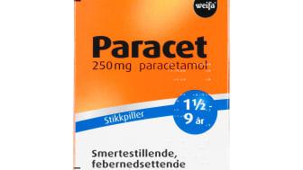 Paracet® 250mg stikkpiller