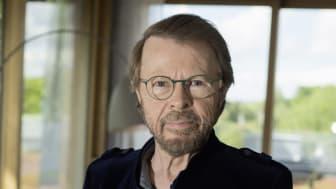 Björn Ulvaeus talar på me Convention i Stockholm