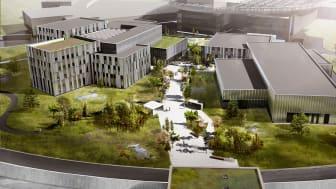 Halfens armeringsskarv i unika ESS projektet i Lund