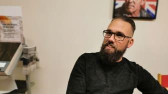 Golvbranschens auktorisation underlättar stort för upphandlare, menar Robert Söderkvist, vd och arbetsledare Sehlins Golv, Sundsvall