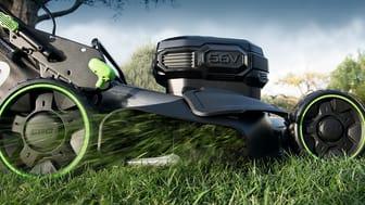 EGO Power+  Nya 56V batteridrivna park & trädgårdsmaskiner lanseras på Nordiska Trädgårdar