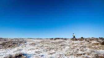 Drumlinen Sandsjöbacka Trail Winter, 2016