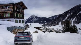 Audi elektrificerer World Economic Forum i Davos med Audi e-tron flåde