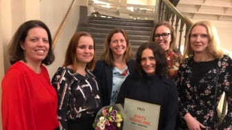 Petra Tötterman Andorff, Jenny Jonskog, Anna Åberg, Linda Kaplan, Anna Tjäder och Cecilia Rojas Angberg.