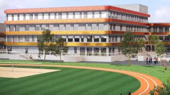 Lindbackaskolan i Lindesberg.