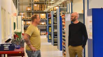 Klätterservice lager med Johan & Anton.