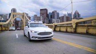 A Ford már valódi városi környezetben teszteli önvezető autóit