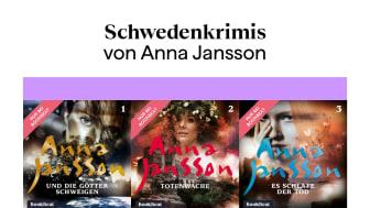 Die ersten drei Teile der Krimiserie um Kommissarin Maria Wern von Anna Jansson