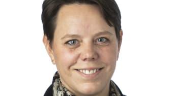Marie Morell, ny ordförande för Kommunalförbundet Avancerad Strålbehandling, som driver Skandionkliniken i Uppsala.