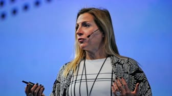 Isabelle Mateos y Lago, Managing Director and Chief Multi-Asset Strategist at BlackRock, addresses the Discovery Financial Planning Summit in Johannesburg on 29 May 2017.