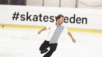Alexander Majorov, en av åkarna som tävlar om SM-medaljerna i Skellefteå nästa vecka.
