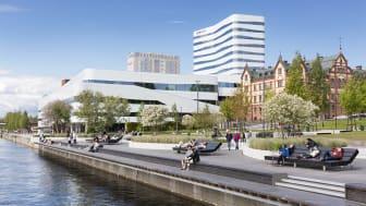 Umeåhotellen slog rekord i antal gästnätter under juli månad. Foto: Calle Bredberg