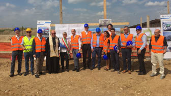 Local officials, religious leaders, other guests and Cavotec management at yesterday's ceremony.