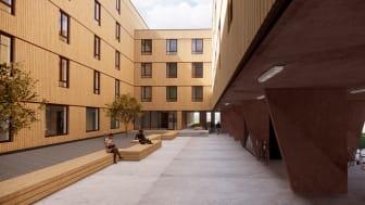 Slik blir de nye studentboligene i Bø.
