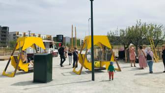 Nu öppnar vi upp Hyllievångsparken