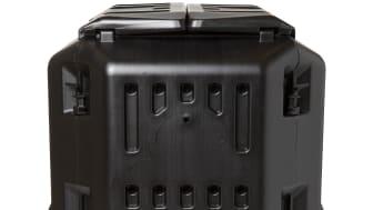 Kompostbehållare 250 ltr svart