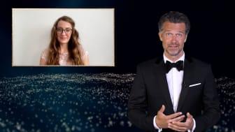 Felix Burda Award 2021: Wayne Carpendale ehrt Susanna Zsoter