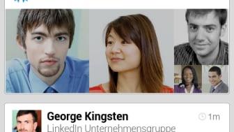 Screenshot LinkedIn Android Updates