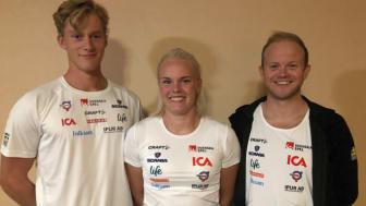 Harald Ekenberg, Jackline Lockner och Robin Norum representerar Sverige i Lettland.