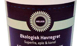 Helios havregrøt med superfrø eple & kanel økologisk 50 g