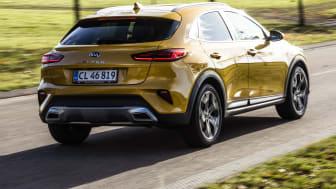 Knap er den nye KIA XCeed lanceret, før den nomineres til Årets Bil i Danmark 2020. Foto: Lars Krogsgaard