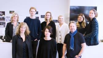 Elenor Wolgers, kommunikationschef Folkoperan med reklambyrån Ingos team.